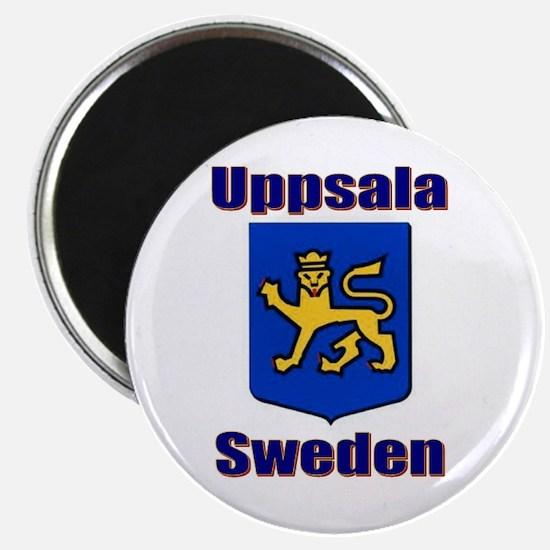 """Uppsala Sweden 2.25"""" Magnet (10 pack)"""