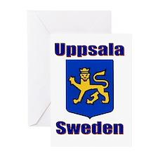 Uppsala Sweden Greeting Cards (Pk of 10)