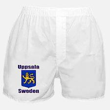 Uppsala Sweden Boxer Shorts