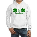 Kiss my Shamrocks Hooded Sweatshirt
