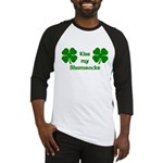 Kiss my Shamrocks Baseball Jersey