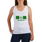 Kiss my Shamrocks Women's Tank Top
