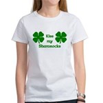 Kiss my Shamrocks Women's T-Shirt