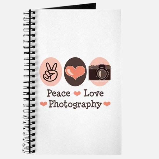 Peace Love Photography Camera Journal