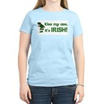 Kiss my Ass it's Irish Women's Light T-Shirt