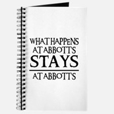 STAYS AT ABBOTT'S Journal