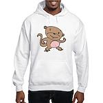 Dancing Monkey Hooded Sweatshirt