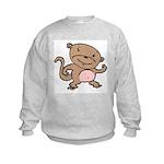 Dancing Monkey Kids Sweatshirt