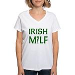 Irish MILF Women's V-Neck T-Shirt