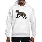 Creepy Monkey Hooded Sweatshirt