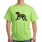 Creepy Monkey Green T-Shirt