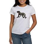 Creepy Monkey Women's T-Shirt