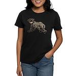 Creepy Monkey Women's Dark T-Shirt