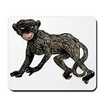 Creepy Monkey Mousepad