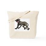 Creepy Monkey Tote Bag