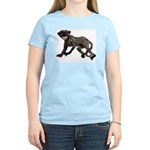 Creepy Monkey Women's Light T-Shirt