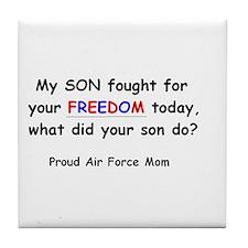 Freedom - Mom Tile Coaster