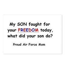 Freedom - Mom Postcards (Package of 8)