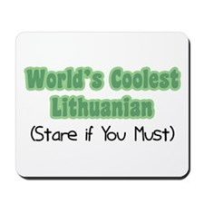 World's Coolest Lithuanian Mousepad