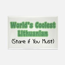World's Coolest Lithuanian Rectangle Magnet