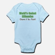 World's Coolest Lithuanian Infant Bodysuit