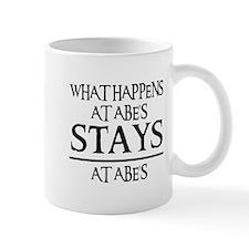 STAYS AT ABE'S Mug