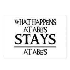 STAYS AT ABE'S Postcards (Package of 8)