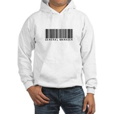 General Manager Barcode Hoodie
