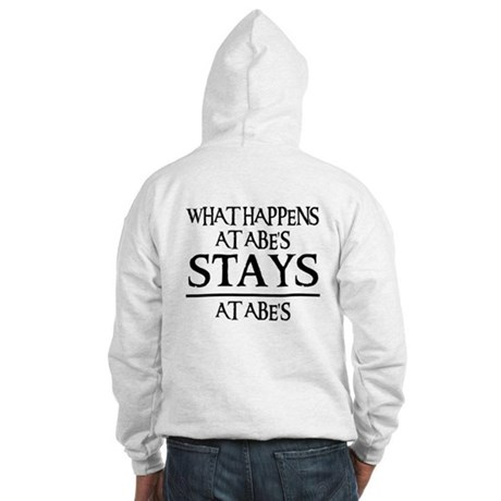 STAYS AT ABE'S Hooded Sweatshirt