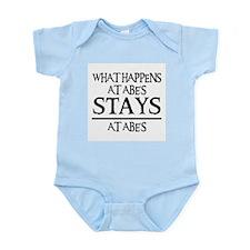 STAYS AT ABE'S Infant Bodysuit