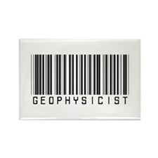 Geophysicist Barcode Rectangle Magnet