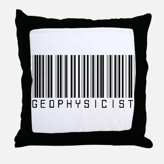 Geophysicist Barcode Throw Pillow