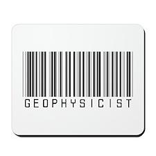 Geophysicist Barcode Mousepad