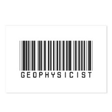 Geophysicist Barcode Postcards (Package of 8)