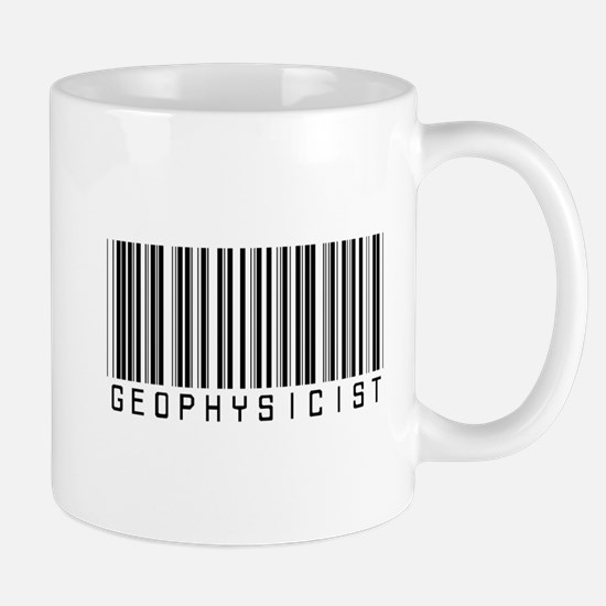 Geophysicist Barcode Mug