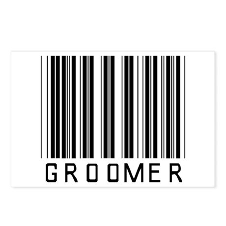 Groomer Barcode Postcards (Package of 8)