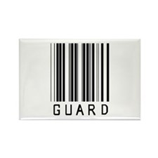 Guard Barcode Rectangle Magnet
