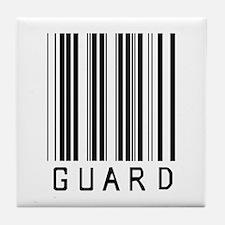 Guard Barcode Tile Coaster