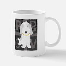 Grey & White PBGV Mug