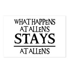 STAYS AT ALLEN'S Postcards (Package of 8)