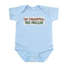 Dirt Worshipping Tree Hugger Onesie