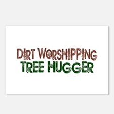 Dirt Worshipping Tree Hugger Postcards (Package of