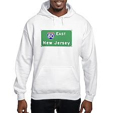 Route 80 East Traffic T-shirt Hoodie