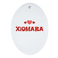 Xiomara Oval Ornament