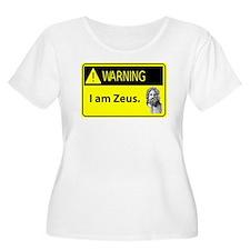 Warning: I Am Zeus T-Shirt