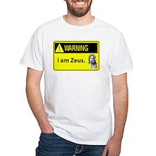 Warning: I Am Zeus Shirt