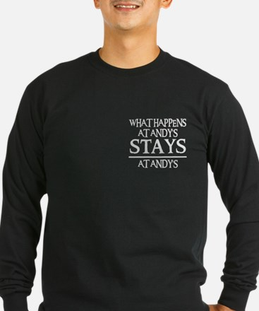 STAYS AT ANDY T