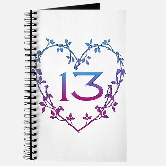 Thirteenth Birthday Journal