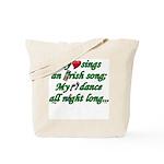 IRISH SONG Tote Bag