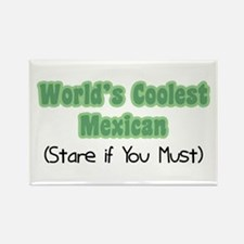 World's Coolest Mexican Rectangle Magnet